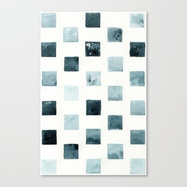 Indigo landscapes Canvas Print