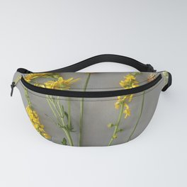 Wild yellow flowers | Floral Photography Fanny Pack