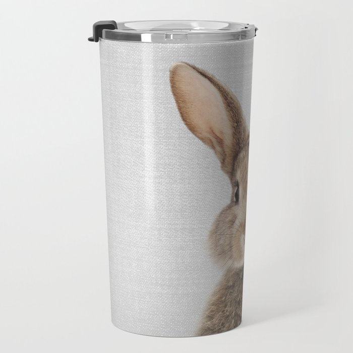 Rabbit - Colorful Travel Mug