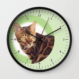 Boris the cat - Boris le chat Wall Clock