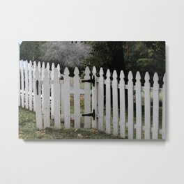 Welcome the gate is open Metal Print