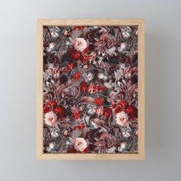 New Year's flowering night Framed Mini Art Print