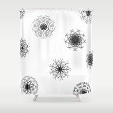 mandalas in the air Shower Curtain