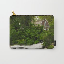 Brandywine River and First Presbyterian Church Rural Landscape Photo Carry-All Pouch