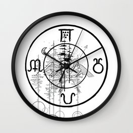 Nature O'clock Wall Clock