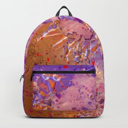 abstract paint gradient 0076 Backpack