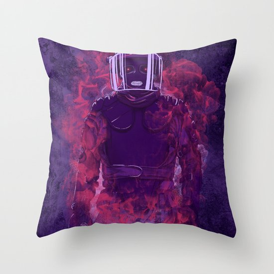Karma Police Throw Pillow