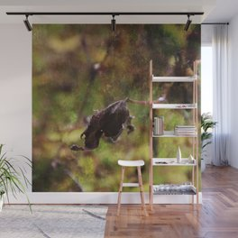 Old leaf artistic composition Wall Mural