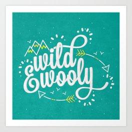 Wild & Wooly II Art Print