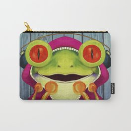 Music Frog Carry-All Pouch