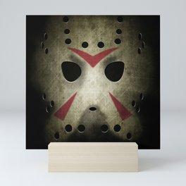 Slasher Hockey Mask Mini Art Print