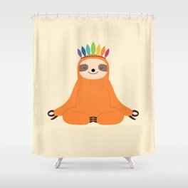 Master Of Calm Shower Curtain