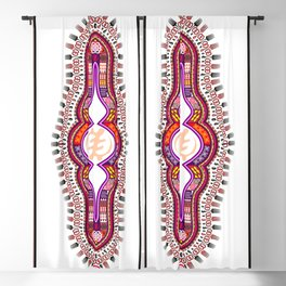 AFRICAN VIBE Blackout Curtain