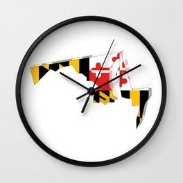 MD Pride Wall Clock