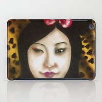 minnie iPad Cases featuring minnie by NAME THEGREY