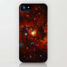 375. X-rays From A Young Supernova Remnant iPhone Case