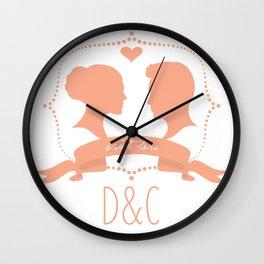 D & C Momo Wall Clock