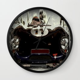 "1956 Lotus ""Eleven"" Sports Car Wall Clock"