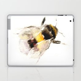 Bumblebee, fuzzy bee Laptop & iPad Skin