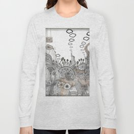 """Brown"" illustration Long Sleeve T-shirt"