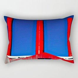 The Red Factory Rectangular Pillow