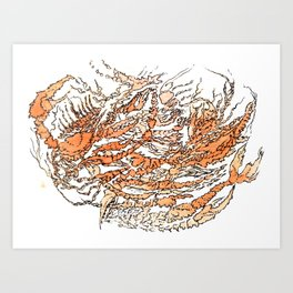crawcrust Art Print