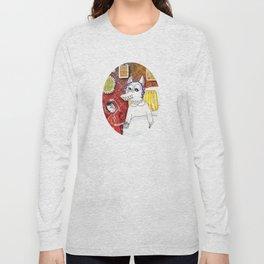 Girl & Wolf Long Sleeve T-shirt