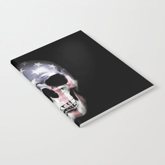 American Skull Notebook