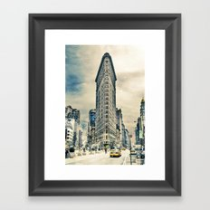 Flatron Building - New York City Framed Art Print