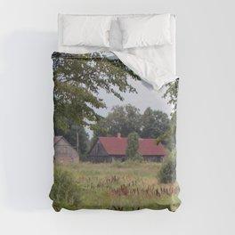 Farm Life in Latvia Duvet Cover