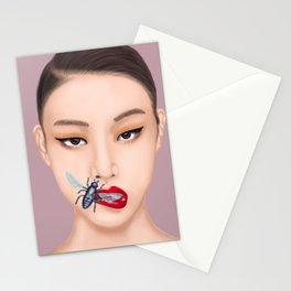 She Speaks Bug Stationery Cards