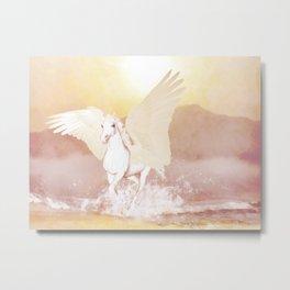 HORSE - Pegasus Metal Print