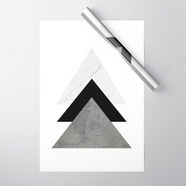 Arrows Monochrome Collage Wrapping Paper