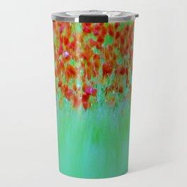 ABSTRACT POPPY  FEILD Travel Mug