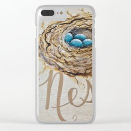 Nest Where You Are Clear iPhone Case
