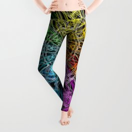 Cassette Carousel (Opaque) Leggings