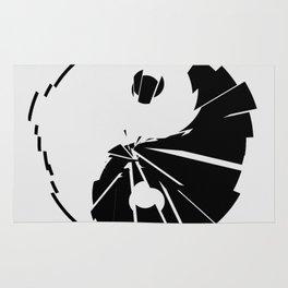 Yin Yang Shatterd Symbol Rug