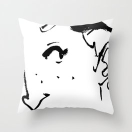 Ink eye Throw Pillow