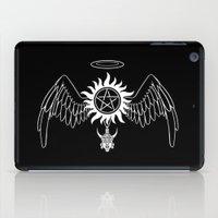 destiel iPad Cases featuring Destiel Logo version 2 by mistina