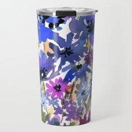 Heavenly Blues and Purples Travel Mug