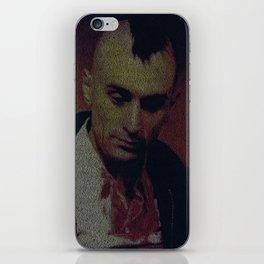 Travis. Taxi Driver Screenplay Print iPhone Skin