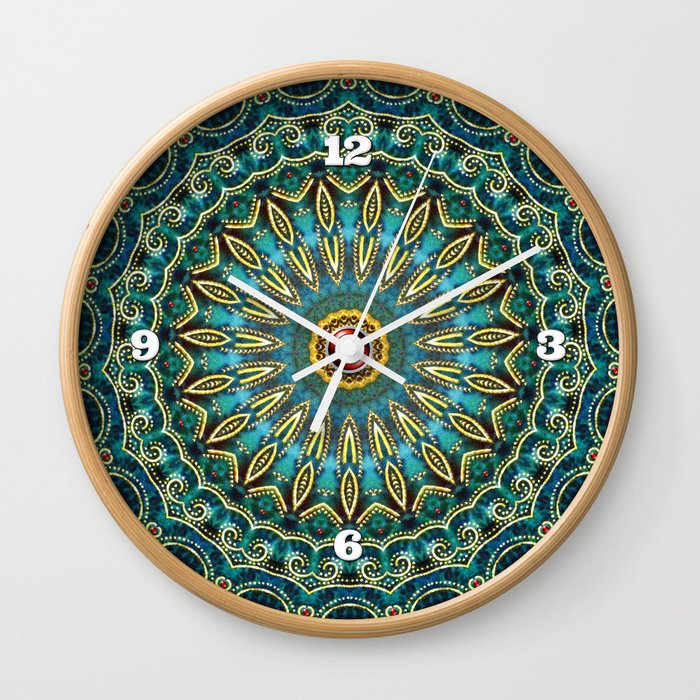 Jewel of the Nile Wall Clock