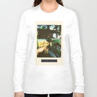 motorcycle Long Sleeve T-shirts featuring Motorcycle by Mauricio De Fex