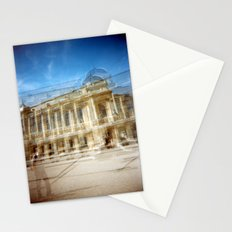 Jardin des Plantes Multiple Exposure Stationery Cards