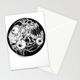 Eyeball Horror Stationery Cards