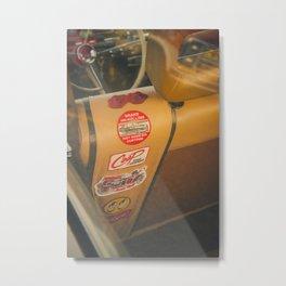 Rear seat stickers Metal Print