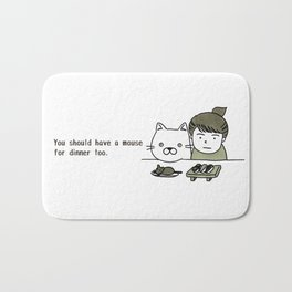 mousexkitty Bath Mat
