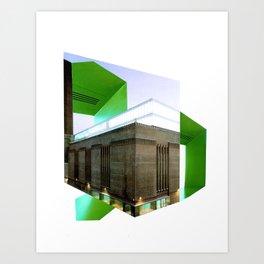 Architecture A  Art Print