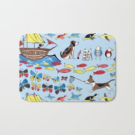 The Voyage of the Beagle Bath Mat