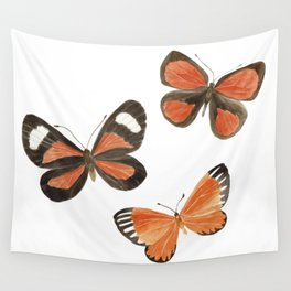 South American Butterflies Wall Tapestry